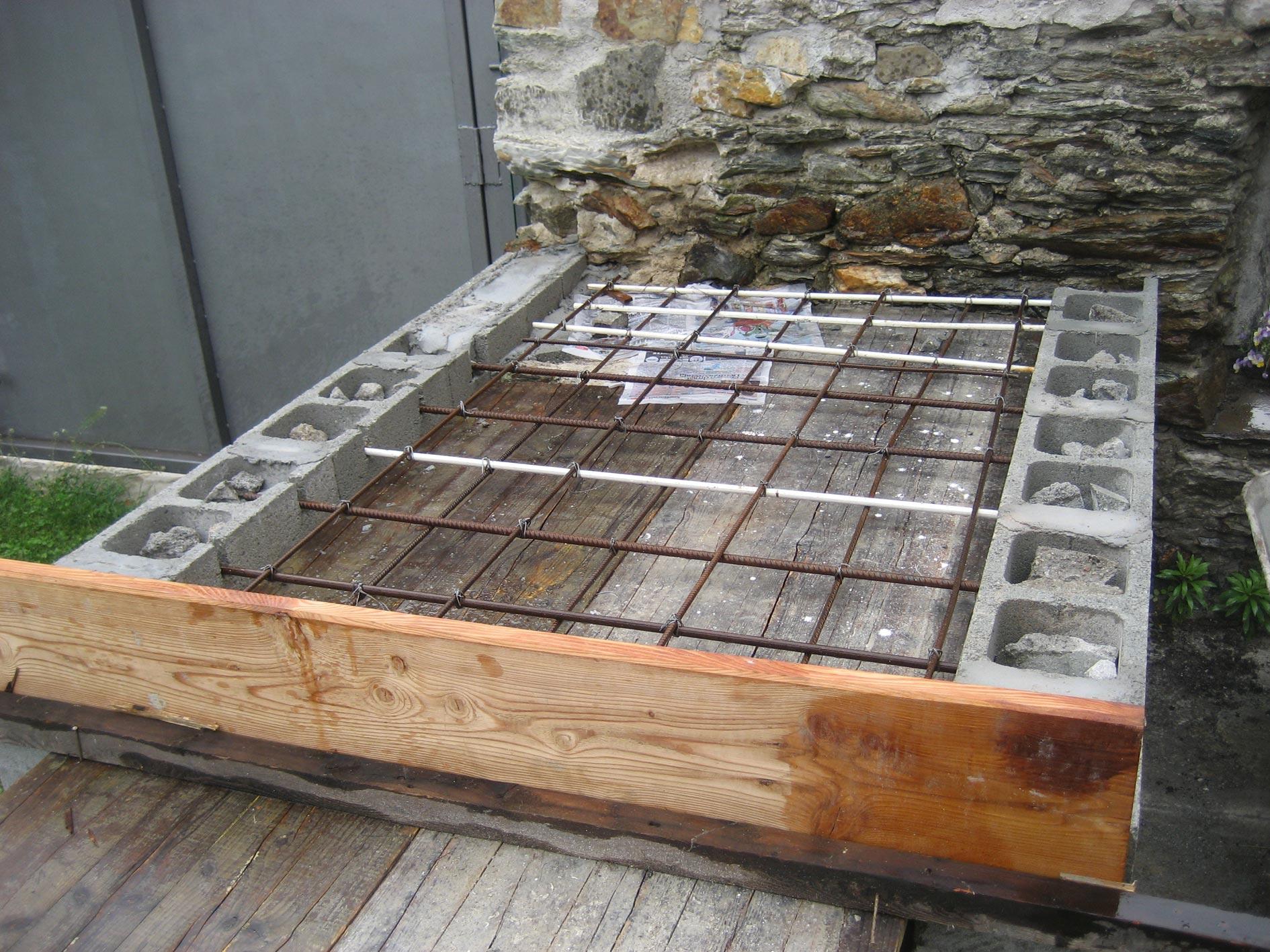 Forno in mattoni refrattari a base rettangolare costruzione for Programma di costruzione per la costruzione di una casa