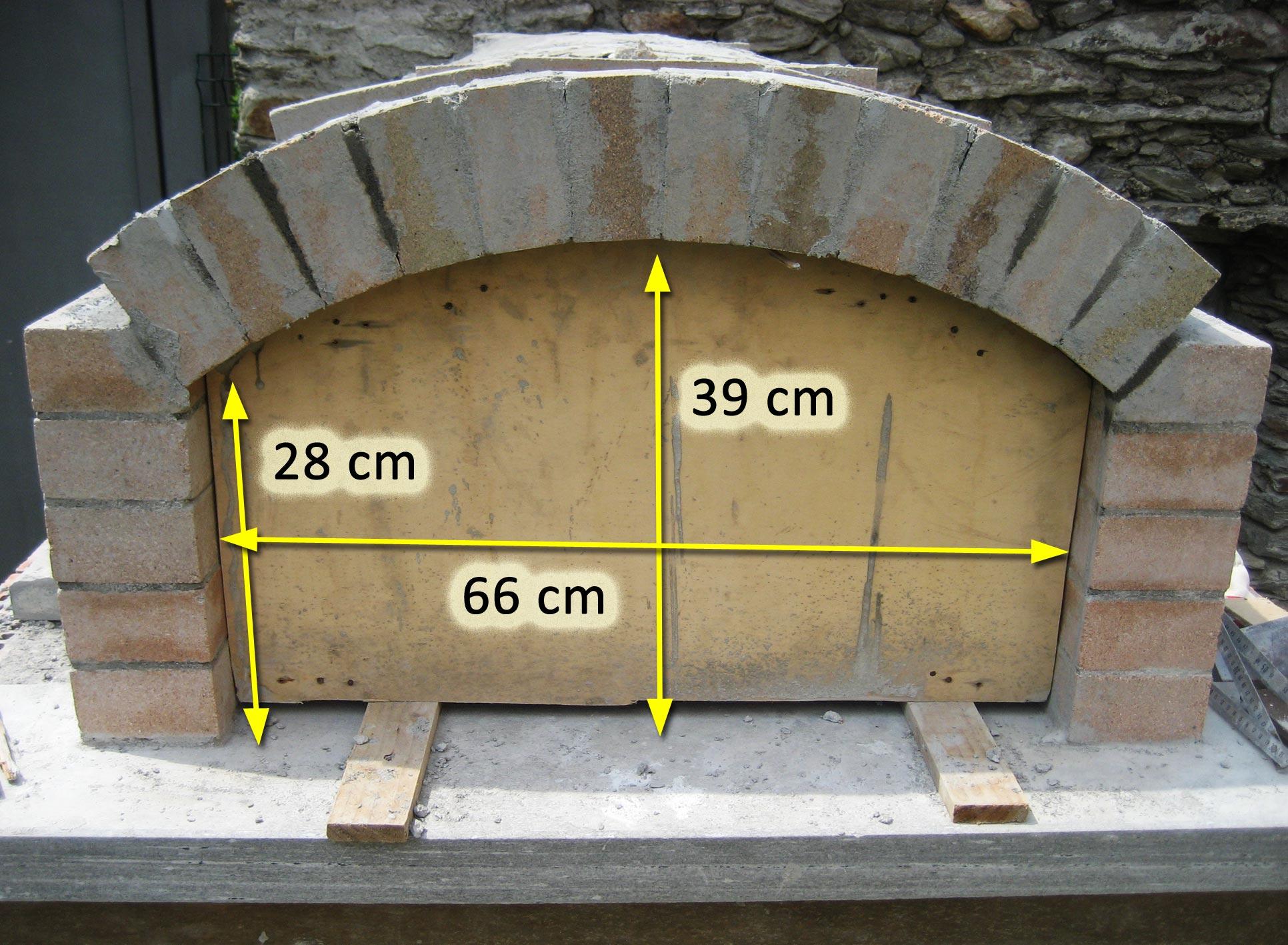 Forno in mattoni refrattari a base rettangolare for Forno per pizza portatile